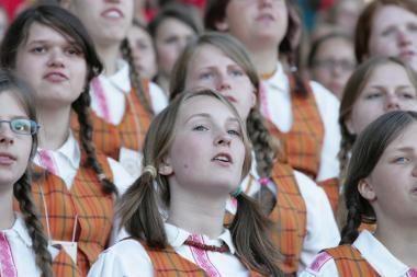 Jau parduodami bilietai į Tūkstantmečio dainų šventę Vilniuje