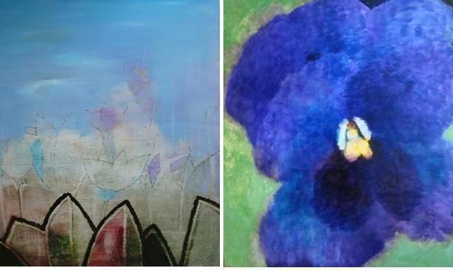 Vilnietės tapybos paroda Klaipėdoje sužydės gėlėmis