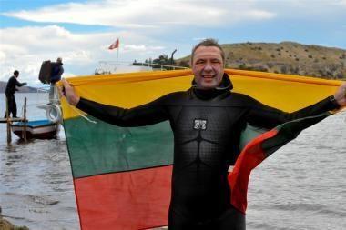 V.Urbonui vėl nepavyko perplaukti Lamanšo sąsiaurio (papildyta)