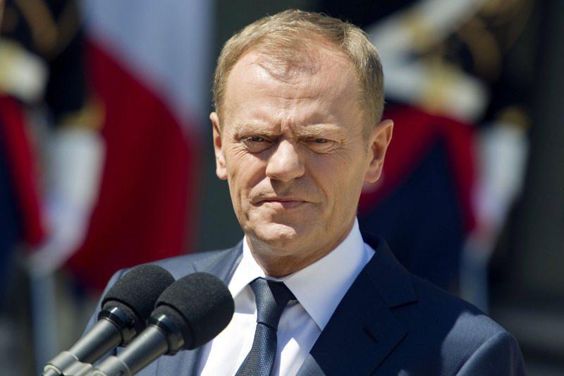 Lenkijos premjeras D. Tuskas paguldytas į ligoninę