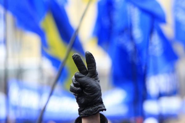 Ukrainos parlamente sudaryta nauja koalicija