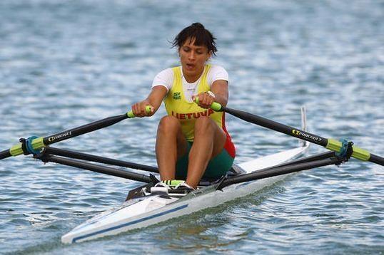 D.Vištartaitė olimpiadoje užėmė aštuntąją vietą