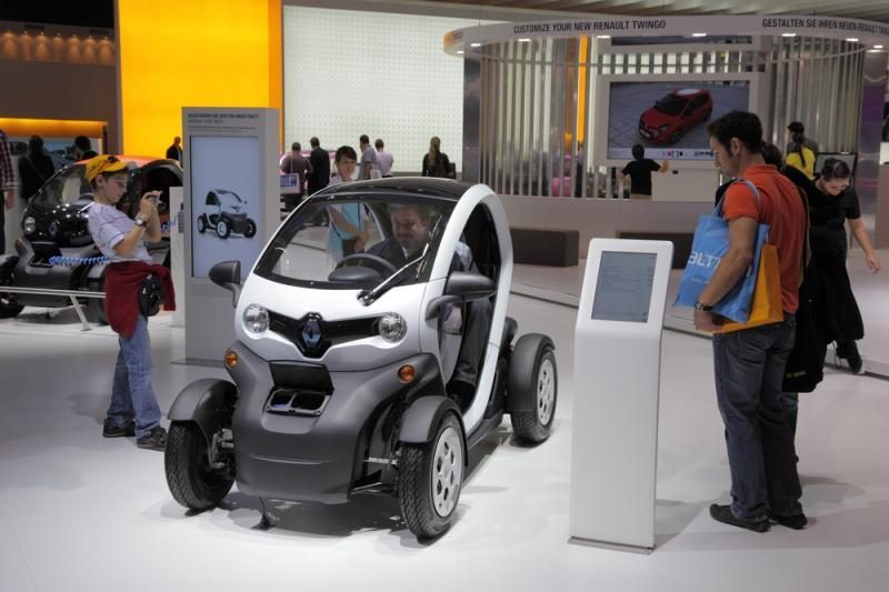 """""""Renault Twizy"""" gavo """"Red dot"""" dizaino apdovanojimą"""