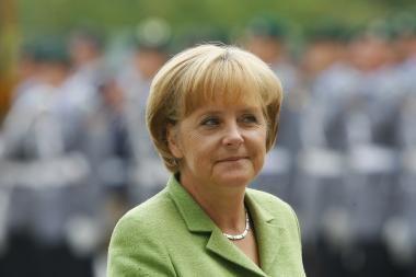 A. Merkel oficialiai patvirtino savo atvykimą į Lietuvą