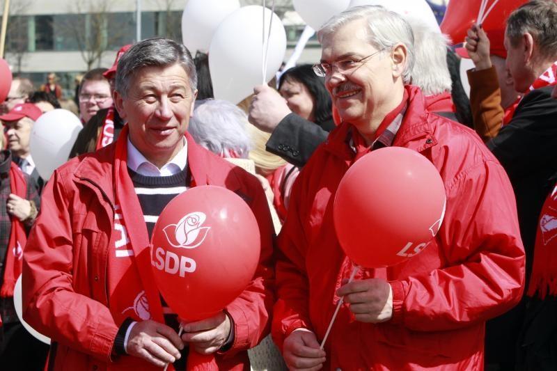 Šeštadienį Lietuvos socialdemokratų partija rinks pirmininką