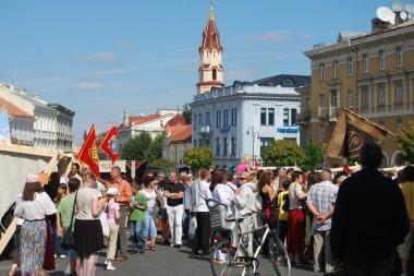Vilniečiai kviečiami į sekmadienio muzikinius vakarus Rotušės aikštėje