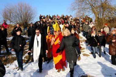 Tibeto gynėjai protestuos Vilniuje
