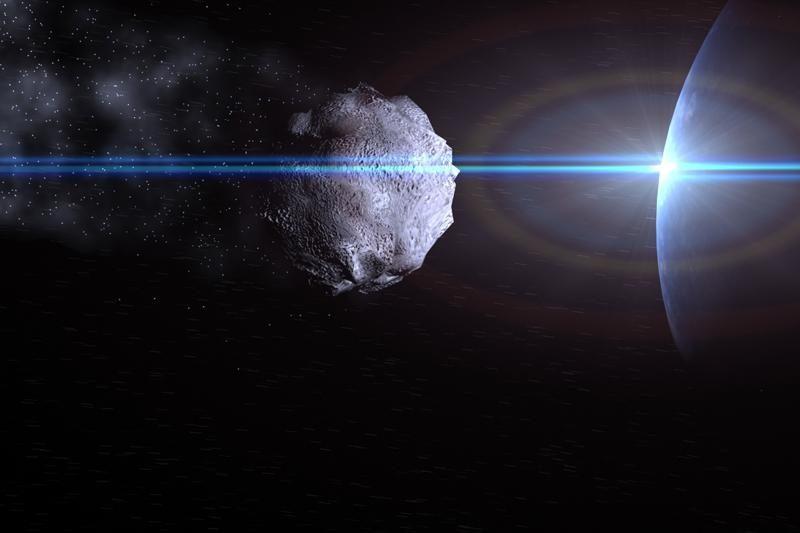 Mūsų galaktikos juodoji skylė minta asteroidais?