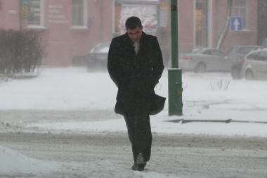 Orai Klaipėdoje: savaitgalį pūs stiprus ir žvarbus vėjas