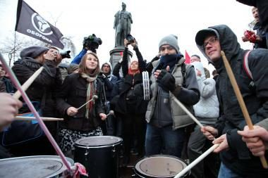 Maskvoje vyksta akcija prieš politines represijas