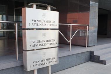 Dingusi elektra sutrikdė trijų Vilniaus teismų darbą