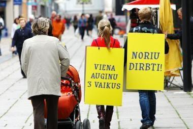 Lietuvių prognozė: bedarbių skaičius didės