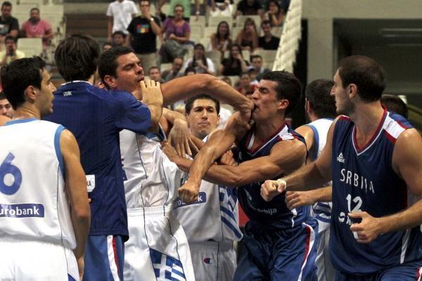 FIBA: muštynės atsirūgs ir serbams, ir graikams
