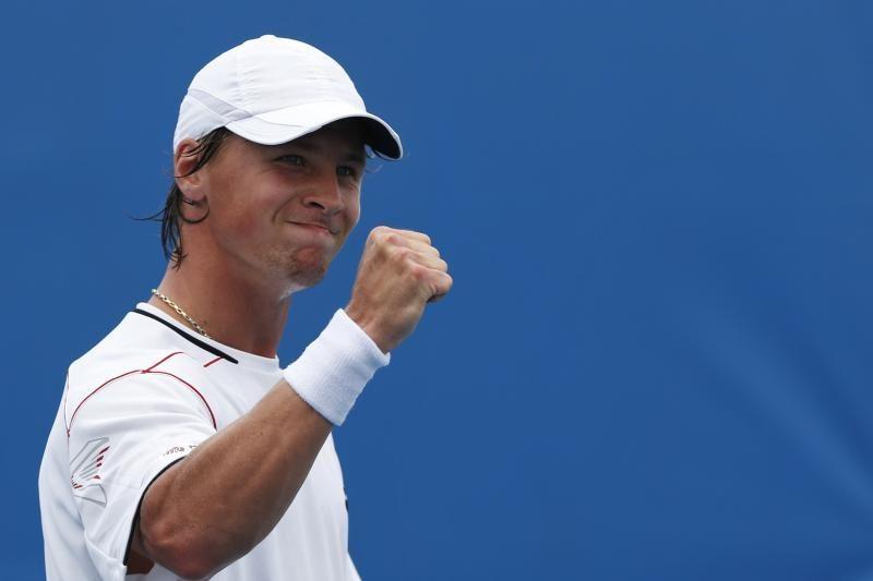 R. Berankis Daviso taurės turnyro mače Lietuvai iškovojo antrąjį tašką