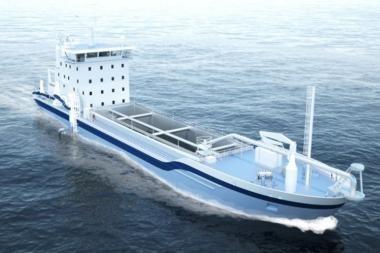 Klaipėdoje bus statoma žemsiurbė Danijos kompanijai