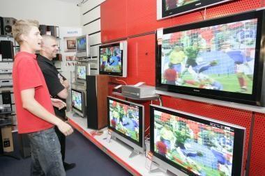 Lietuviams sportas įdomus tik per televiziją