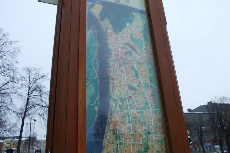 Klaipėdos žemėlapyje - nepaaiškinamos juodos dėmės