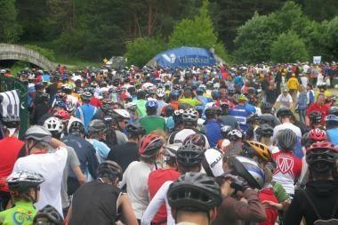 Vilniaus dviračių maratone lietuviai nepasidavė užsienio svečiams