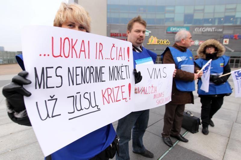 Vilniaus vairuotojai ir jų bičiuliai priešinasi bandymams nutildyti