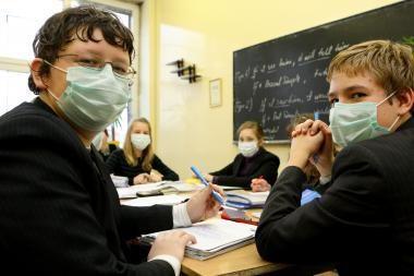 Gripo dienoraštis: padėtis stabili, bet rizikinga (mokyklų sąrašas)