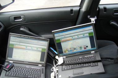 Šveicarijoje sulaikyti trys makedonai, įtariami pavogę lietuvių kompiuterius