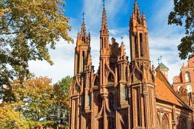 Šv.Brunono gatvė Vilniuje bus netoli Šv.Onos bažnyčios