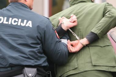 Įtariamas mašinvagis iš Klaipėdos įkliuvo netoli Kauno