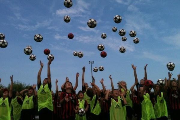 """""""AC Milan"""" vaikų futbolo stovykla vėl Klaipėdoje"""