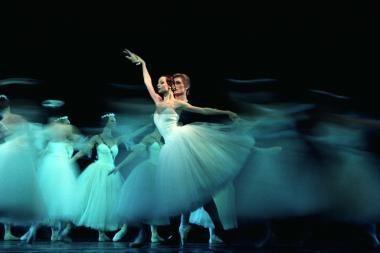 Žizel šoks balerina iš Maskvos