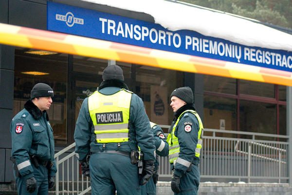 "Klaipėdos ""Regitra"" policijai perdavė Vokietijoje vogtą automobilį"