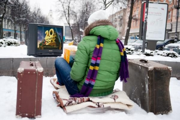 Sutikdami Naujuosius metus vilniečiai rinkosi rusišką televiziją
