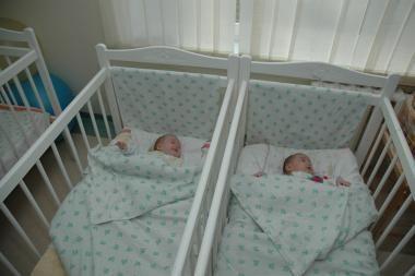 Apskrityje padidėjo gimstamumas