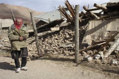 Kirgiziją supurtė stiprus žemės drebėjimas