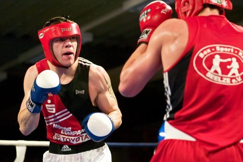 V.Subačius pirmoje pasaulio bokso pirmenybių kovoje įveikė čempioną