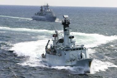 Į išminavimo pratybas prie Lietuvos krantų atplauks du rusų laivai