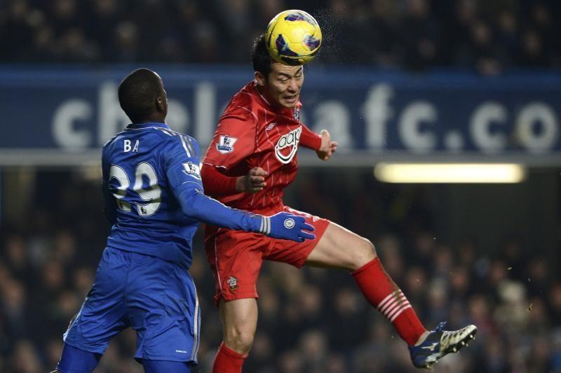 """""""Chelsea"""" iššvaistė dviejų įvarčių persvarą ir neįveikė """"Southampton"""""""