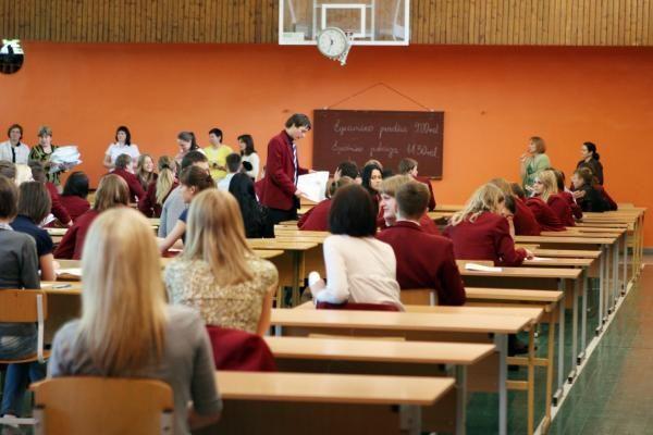 Abiturientai ignoruoja egzaminus
