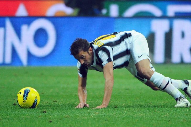 Nenuilstantis A.Del Piero dar neketina baigti karjeros