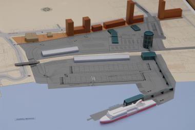 Pasirašyta sutartis dėl Klaipėdos keleivių terminalo statybų