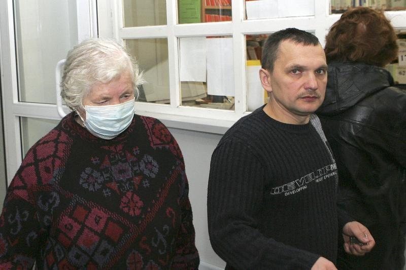 Sergamumas gripu epideminį lygį peržengė visoje Lietuvoje