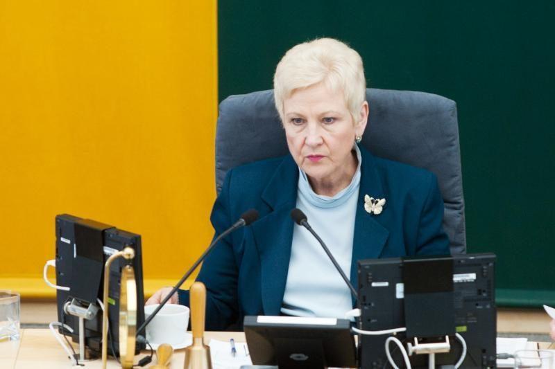 I.Degutienė: S.Stomos vietoje pasitraukčiau iš Seimo ir iš politikos