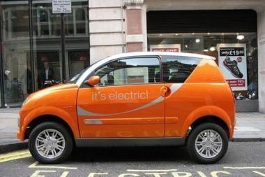 Londonas kuria elektromobilių miestą