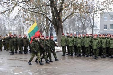 Minima Lietuvos kariuomenės diena