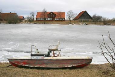 Potvynis pamaryje: ledų lytys grasina Mingės kaimui