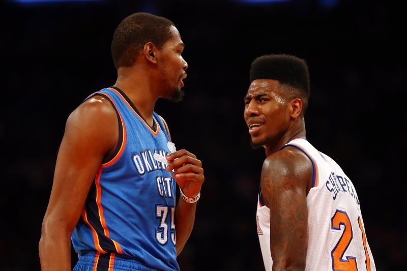 """NBA: K. Duranto baudos metimai paskandino """"Knicks"""""""