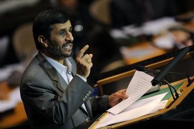 Irano vadovas: sionistai yra mirtingi
