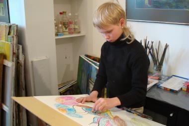 Aukcionas paskatins talentingus globos namų vaikus studijuoti