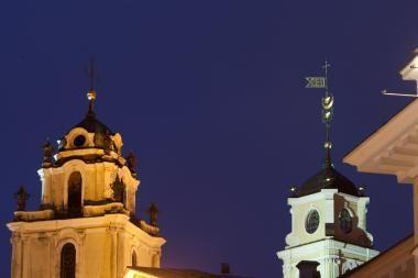 Šv. Jonų bažnyčios varpinėje įrengs apžvalgos aikštelę