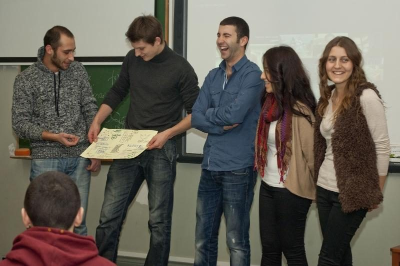 Klaipėdos universiteto studentų gretas papildė 25 užsieniečiai