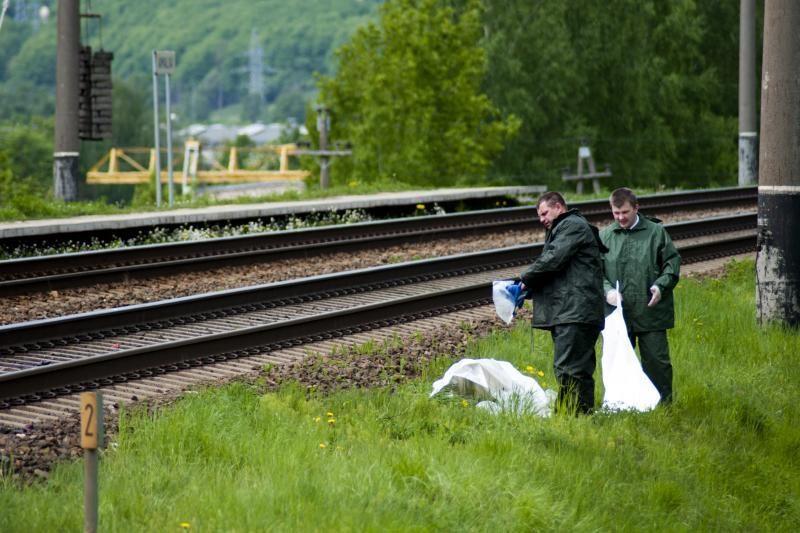 Mažeikiuose po traukiniu žuvo senolė